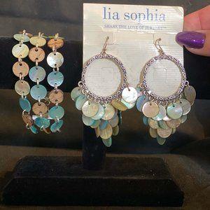 Lia Sophia Jewelry - Lia Sophia Abalone bracelet and earring set